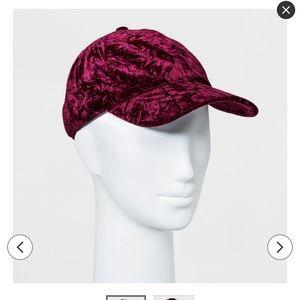 Crushed Velvet hat